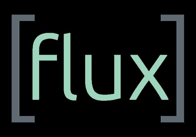 flux logo banner