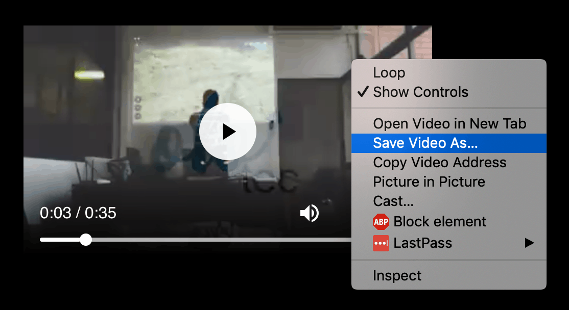 save videos from Facebook