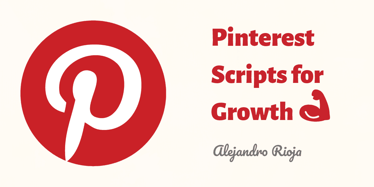 Pinterest Scripts for Growth