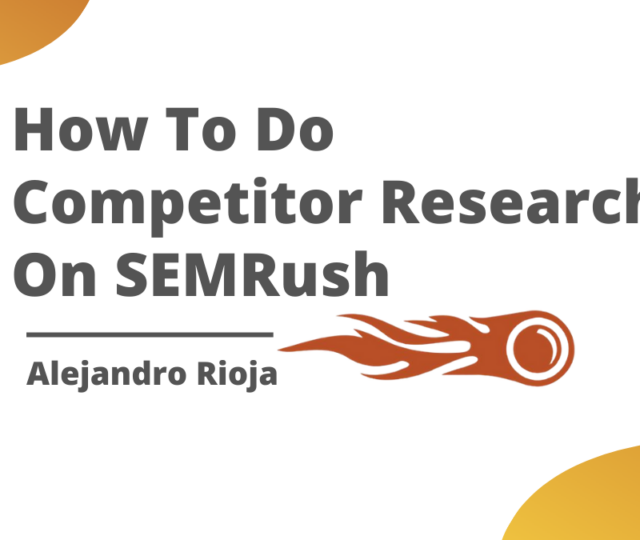 competitor-research-semrush