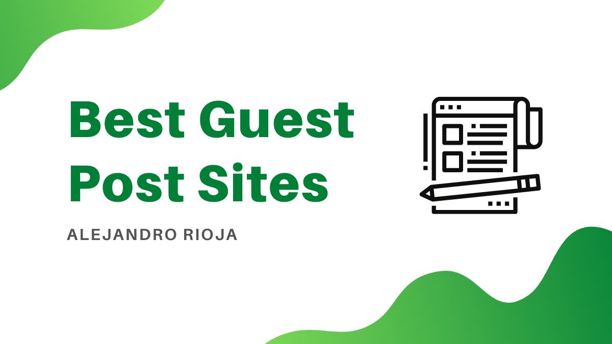 Best Guest Post Sites